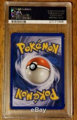 Psa 10 Gem Mint Cristal Lugia Aquapolis Secret Rare Pokemon Carte 149/147 S50