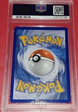 Psa 10 Gem Mint Dialga Ex 122/119 Carte Pokémon Secret Rare Fantôme Forces