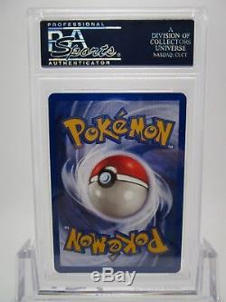 Psa 10 Gem Mint Dragonite Foncée Aucun Erreur Holo Team Rocket Pokemon Card 5/82 B35