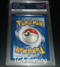Psa 10 Gem Mint Foncé Raichu 83/82 1ère Édition De L'équipe Rocket Holo Rare Carte Pokemon