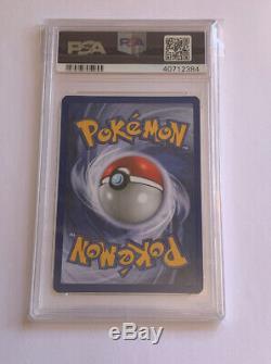 Psa 10 Gem Mint Lumière Dragonite 14/105 Neo Destin Holo Rare Carte Pokémon