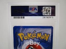 Psa 10 Gem Mint Machamp Base Set 1ère Édition Holo Rare Pokemon Card 8/102 S61