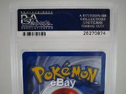 Psa 10 Gemme Mint Charizard Base Set Holo Rare Illimité Carte Pokémon 4/102 B41