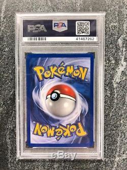 Psa 10 Gold Star Suicune Carte Pokémon Holo Rare 115/115 Unseen Forces