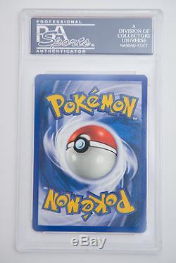 Psa 10 Machamp Gem Mint 1ère Édition 38/102 Pokemon Card Rare Holo