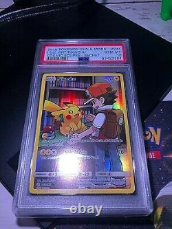 Psa 10 Pikachu 241/236 F/a Secret Rare Pokemon Cosmic Eclipse Card #241