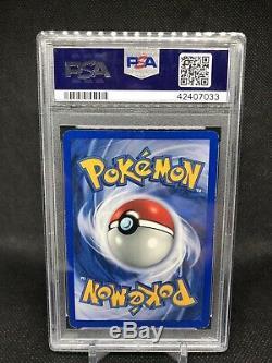 Psa 7 Carte Pokemon Sans Ombre Charizard Holo Rare 4/102 Wotc 1999