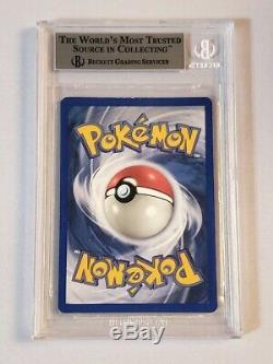 Psa 9 Bgs 8.5 1ère Édition Dracaufeu 4/102 Rare Carte Holofoil Shadowless Pokemon