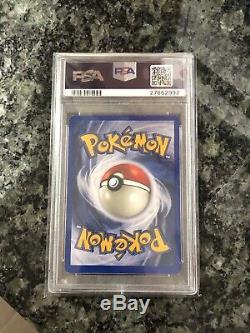 Psa 9 Mint Brillante Charizard 107/105 Neo Destin Triple Star Rare Carte Pokémon