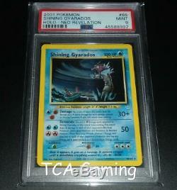 Psa 9 Mint Brillante Gyarados 65/64 Neo Revelation Holo Rare Carte Pokemon