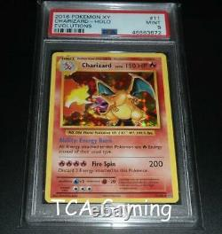 Psa 9 Mint Charizard 11/108 Xy Evolutions Holo Rare Carte Pokemon