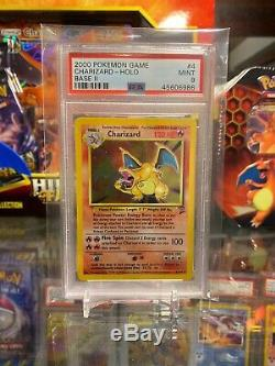 Psa 9 Mint Charizard 4/130 Base 2 Holo Rare Carte Pokemon
