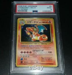 Psa 9 Mint Charizard Japonais Meilleure Chanson CD Rare Holo Carte Promo Pokemon