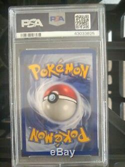 Psa 9 Mint Pikachu Gold Star 104/110 Ultra Rare Ex Fantômes Holon Carte Pokémon