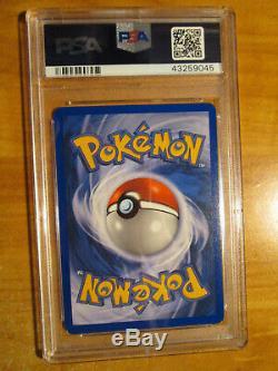 Psa-9 Pokemon Rocket's Snorlax Ex Card L'équipe Des Declarations De Roquettes Set 104/109 Rare Holo