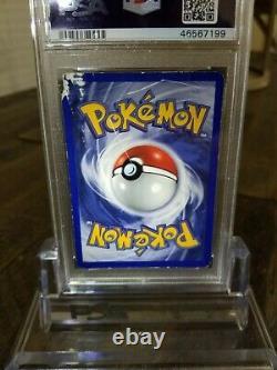 Psa-authentic- 1ère Édition Base Set Shadowless Charizard Pokemon Card 4/102