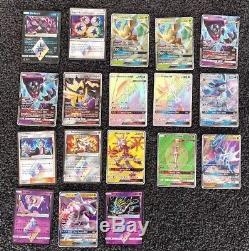 Random Ultra Rares Full Arts Primes Gx Ultra Prism Pokemon Card Bundle