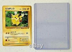 Rare! 1996 Japonais Pikachu Monstre De Poche Carte Pokémon Hard Case Ex Cond