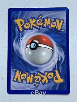 Rare! 1999 Électrode Carte Pokémon De Base Holo Holographic Ex Old Vintage Cond