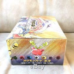 Rare Cartes Pokemon Japon Neo Genesis Booster Pack Box Scellé En Usine