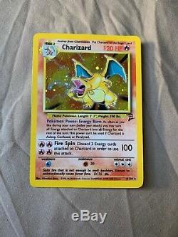 Rare Charizard Holo Base 2 Carte Pokemon 1999 4/130 Mint
