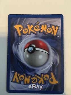 Rare Étape 1 De Pokemon Charmeleon Card 24/102, 1995
