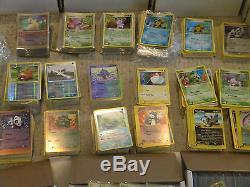 Rare Holo Pokemon Card Lot 5000 Cartes! Charizard Common Uncommon Lots