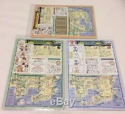 Rare Jumbo Carddass Sugimori Charizard 3x Lot Carte Japonaise Pokemon