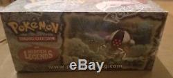 Rare Nouveaux Packs De Cartes Booster Box Pokémon Ex Hidden Legends 2004