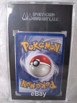 Rare Première Édition 1999 Pokemon Charmeleon Card # 24/102 Sgc Gradé 84 Nm 7