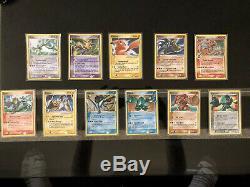 Rarissime Jcc Pokémon Gold Star Card Lot Pikachu, Gyarados, Latias & Etc