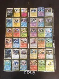 Reliure De Cartes Pokémon Plus De 250 Cartes (rares Et Ultra Rares)