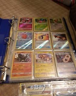 Reliure De Collection De Cartes Pokemon 1000+ Cartes De Plus De 200 Promos Holos Rares Etc