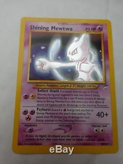 Secret Rare Mewtwo Brillant 109/105 Neo Destiny Set Carte Pokemon Près De Menthe