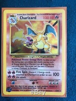 Set Carte Pokemon (charzard, Venusaur, Sombre Raichu Rare)
