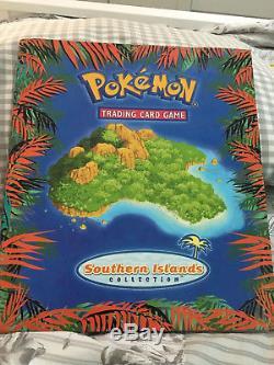 Set Complet De 18 Cartes Pokemon Southern Islands Et Cartable Rare