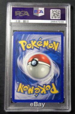 Shadowless Dracaufeu 4/102 Psa 6 Holo Foil Set Rare Base Carte Pokemon Ex-mt