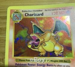 Shadowless Dracaufeu 4/102 Rare Holo Foil Set De Base Carte Pokémon 1999 Nm / Lp