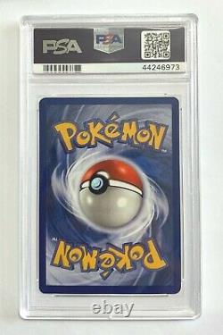 Sulfura Rare Carte Pokemon Illimitée Fossile Série 27/62 Graded Psa 10 Gem Mint