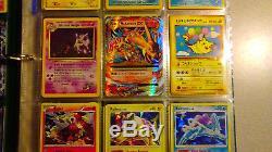 Vintage & New Pokemon Binder 180 Collection De Cartes Lot Chardizard Rares & Holos
