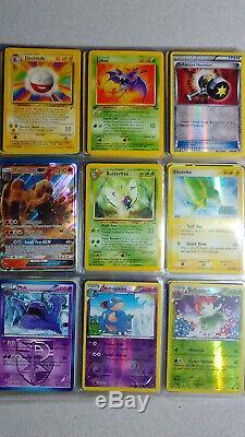 Vintage & New Pokemon Binder 300+ Collection De Cartes Lot Chardizard Rares & Holos