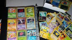 Vintage & New Pokemon Binder Plus De 600 Collection De Cartes Lot Chardizard Rares & Holos