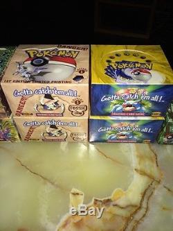 Wotc Pokemon Booster Box (ouvert) Avec Des Cartes D'origine À L'intérieur. Masse