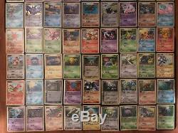 (ensemble Complet) Les 92 Cartes Pokemon Chinese Ex Legend Maker Goldstars Nm-mint Rare