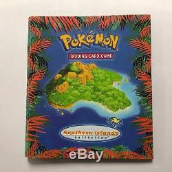 (gmg) Carte Complète De Pokemon De Carte De Pokemon D'île Du Sud Complète Rare Sealed